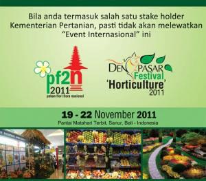 Denpasar Festival Horticulture 2011 (PF2N)