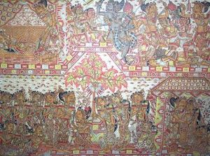 Lukisan Tradisional Bali Di Desa Kamasan