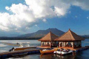 Restoran di Danau Batur