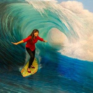 Lukisan Trik 3D Bali