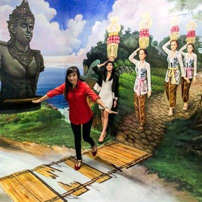 Paket Tour Ke Bali Musium 3D Bali